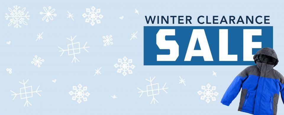 Winter Clearance Sale
