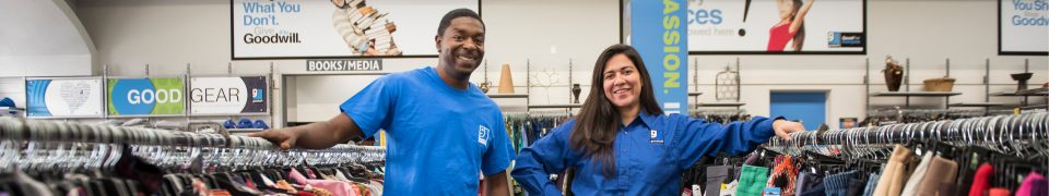 Goodwill Stores Hiring Full-Time and Part-Time Positions